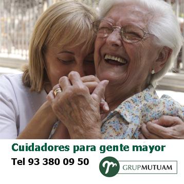 5% de descuento en el Servicio de Cuidadores y Cuidadoras para Gente Mayor en Barcelona