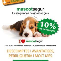 10% de descuento en el seguro para perros y gatos