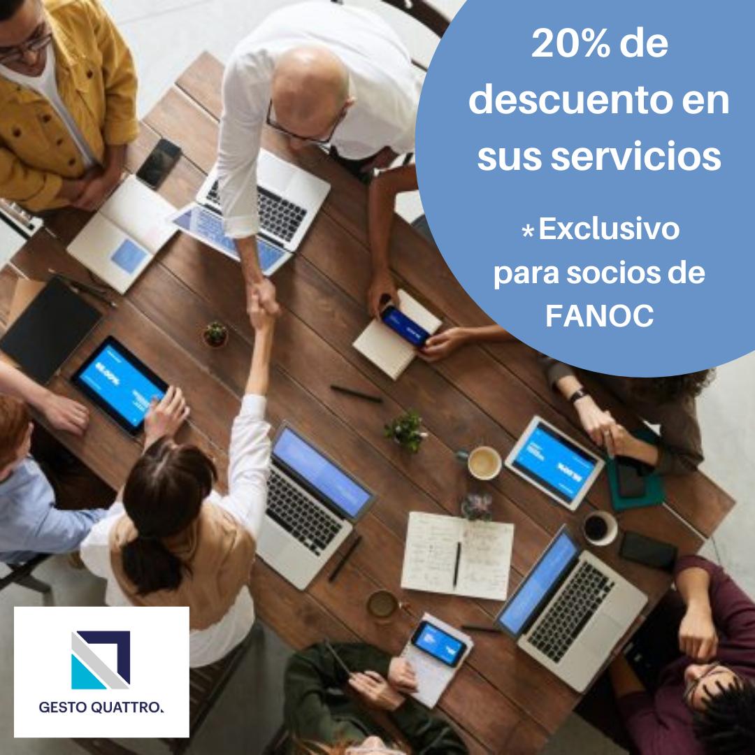 20% de descuento en sus servicios